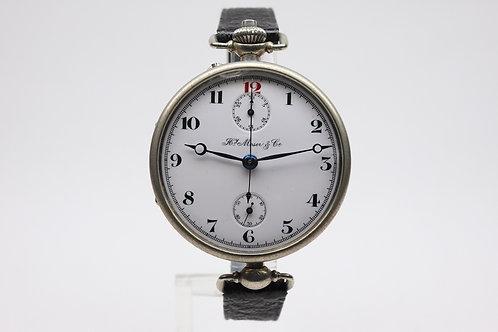 Hy. Moser & Cie. Chronograph ca. 1910