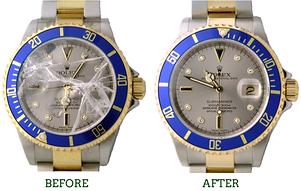 watch crystal repair / watch face repair