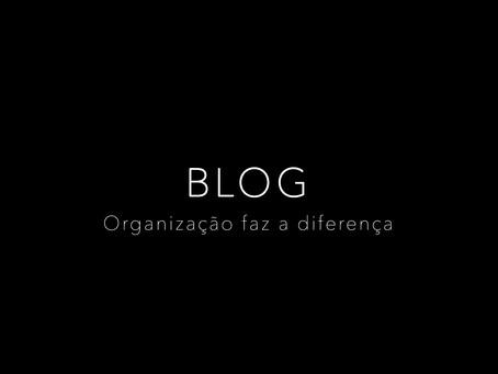 Organização faz a diferença