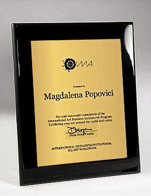 IMA - Mgdalena Popovici - plaque 2019.jp