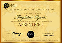 2017 - Aprentice I Certificate - Magdale