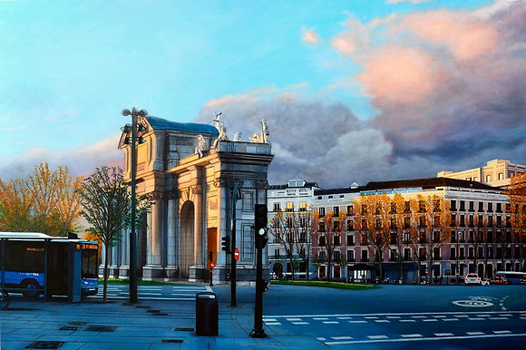 Exhibit in Madrid, Spain.