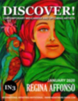 COVER OF DISCOVER - REGINA AFFONSO - 12-