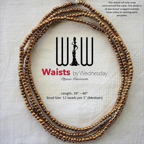 Medium Gold African Waist Beads