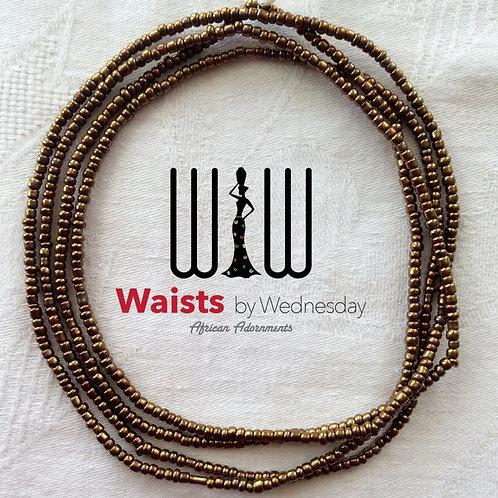 Small Bronze African Waist Beads