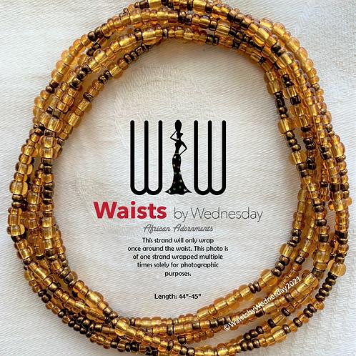 Brown Skinned Girl African Waist Beads