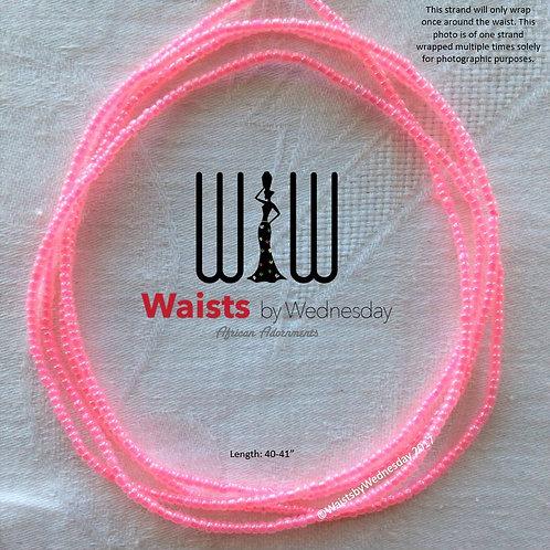 Pink African Waist Beads
