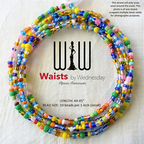 Island Life African Waist Beads