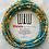 Thumbnail: Neema Teal African Waist Beads