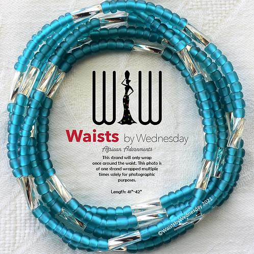 Limbe Aqua Brilliance African Waist Beads