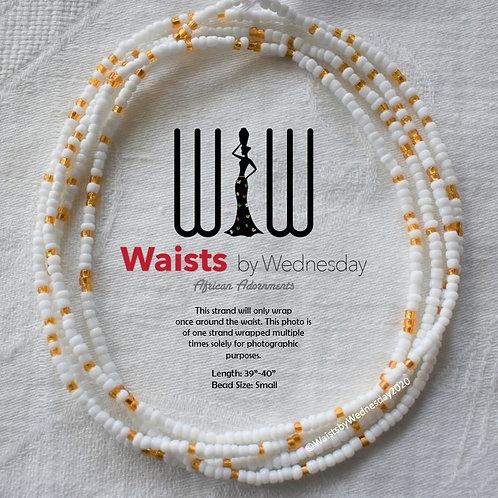 White & Sala African Waist Beads