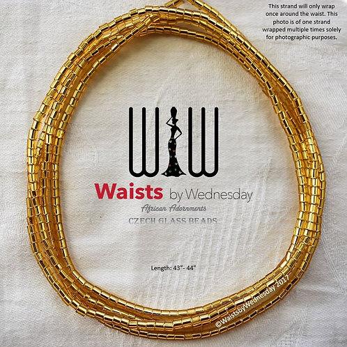 Gold Czech Waist Beads