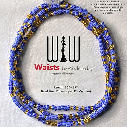 Nsaa Traditions & Gold Radiance African Waist Beads