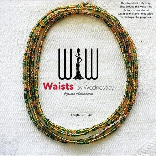 Green & Sala African Waist Beads