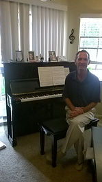 Scott Frock piano lesson irving