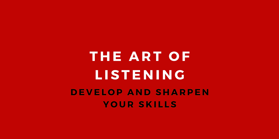 Active Listening Class for Mentors and life coaches