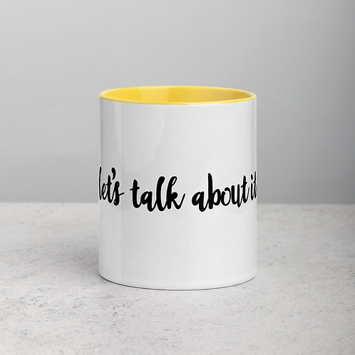Let's Talk About It Mug