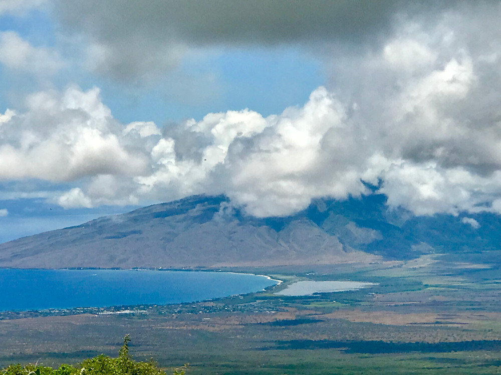 This is the beautiful tropical island of Maui