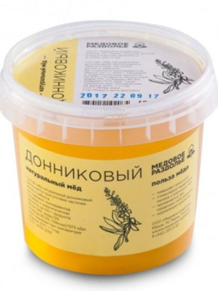 Мёд донниковый 500гр