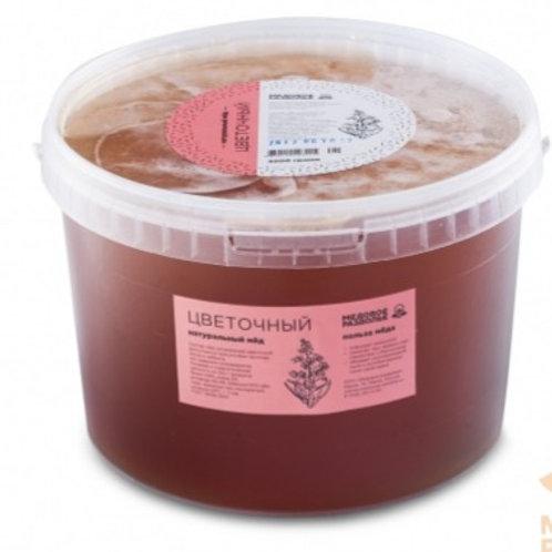 Мёд цветочный 4,5кг