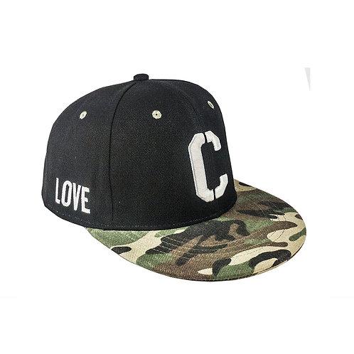 Cube+ Trucker hat (Black&Camouflage) 平板帽