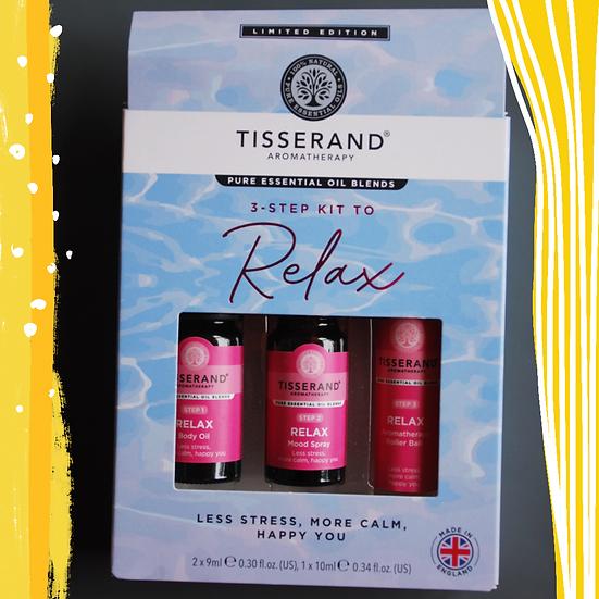 Tisserand 3-Step Kit to Relax