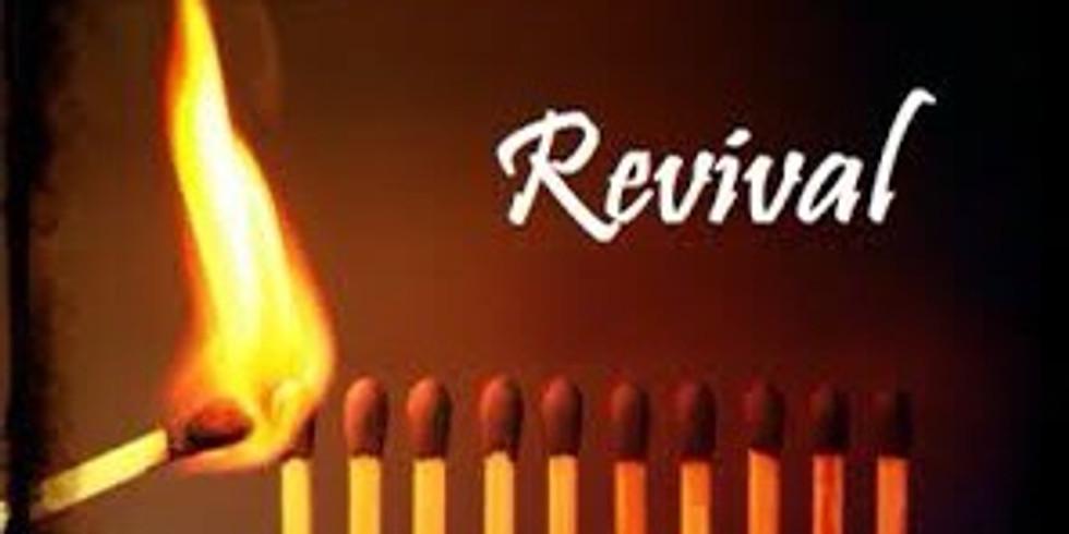Summer Revival  (Aug. 9th-12th)