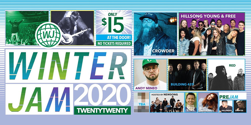 Youth Outing: Winter Jam 2020