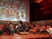 First concert with Rotterdam Philharmonic
