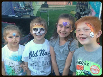 Face Painting Pahrump, Balloon Fest, Skulls and Princesses