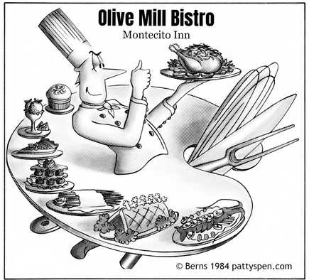 Olive Mill Bistro Montecito Inn