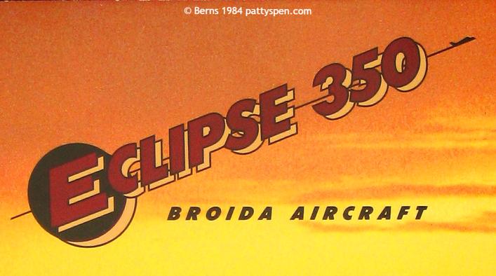 Eclipse 350 Broida Aircraft