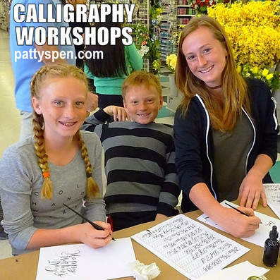 Calligraphy Workshops