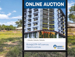 Online Auctions new to the NT