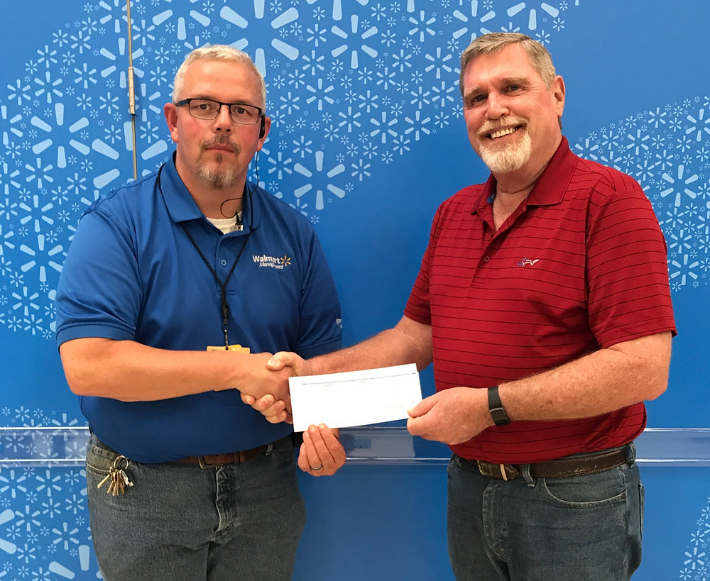 Walmart Community Grant Program donates $1,000 to Habitat Rabun
