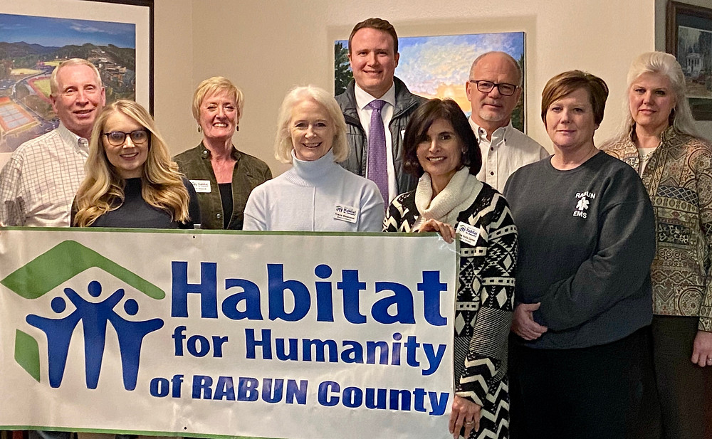 New board members and executive committee for Habitat Rabun