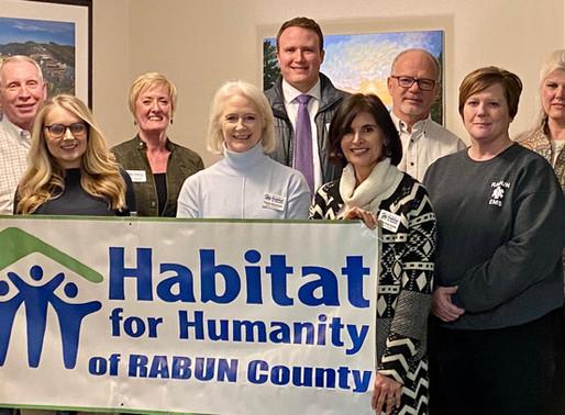Habitat Rabun's 2020 Board and New Members