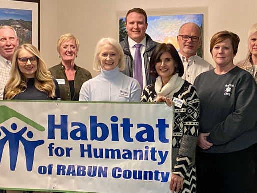Habitat Rabun's 2020 Board and New Members