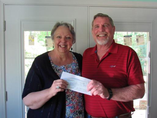 Sky Valley Garden Club Donates $500