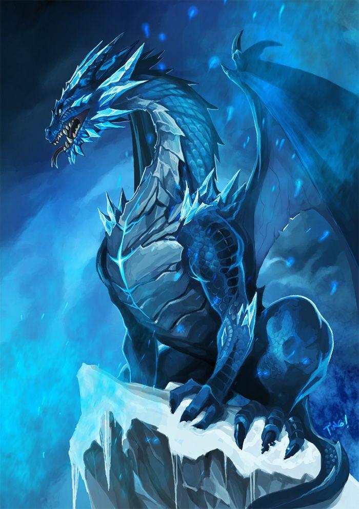 Dragão azul: representa nossa mãe