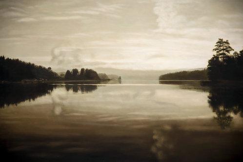 Earth landscape 01. Digitalt trykk.