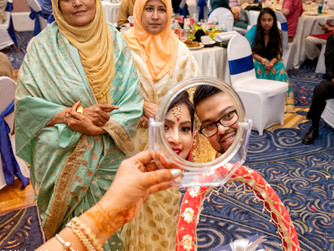 A Bangladeshi wedding in Bedford, Ma