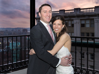 Early springtime wedding at the Omni Parker House, Boston