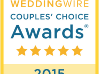 WeddingWire Couples' Choice - 2015