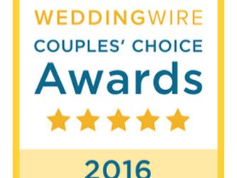 Couples' Choice Award 2016 WeddingWire.com
