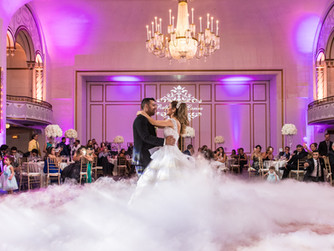 Carine & Ralph's dream-like wedding at the Boston Park Plaza Hotel