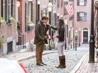 Maria and Hayes' Engagement on Beacon Hill