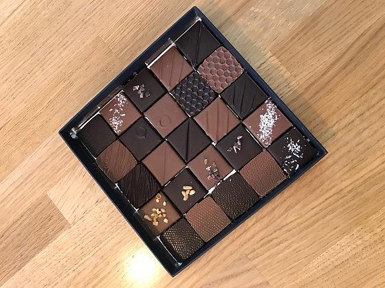 Ballotin de 25 chocolats