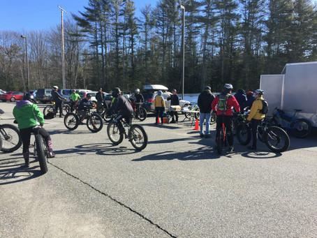 Fat biking in Brunswick