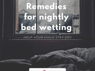 Remedies for Nightly Bedwetting